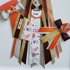 Other - The Woodlands baby shower corsage set for mom&dad